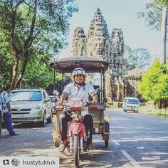 My friend @trustytuktuk will safely take you anywhere you want to go & talk with you in Khmer or English with a friendly manner. This is my choice of transportation in Siem Reap as my driver for over 5 years & many of my friends have used this service 🌿🌎 Have you been to Angkor Wat? Follow @trustytuktuk & send a msg to book! You can also check it out on TripAdvisor https://www.tripadvisor.com.au/Attraction_Review-g297390-d10836525-Reviews-Trusty_Tuk_Tuk-Siem_Reap_Siem_Reap_Province.html…