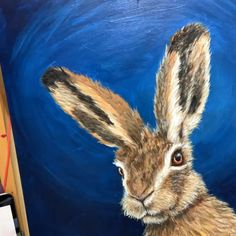 Painting fine hair and fur on a rabbit Process Art, Animal Paintings, Fine Hair, Rabbit, Around The Worlds, Fur, Videos, Animals, Instagram
