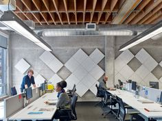acoustical panels - Teach for America Offices - San Francisco - Office Snapshots