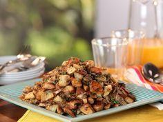 Wild Mushroom-Yukon Gold Hash recipe from Bobby Flay via Food Network