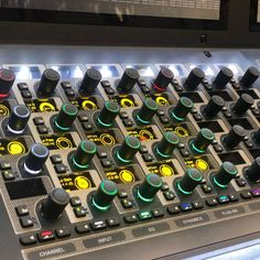 #soundcheck #livesound #s6l #avid #regram Recording Studio Home, Photo And Video, Instagram