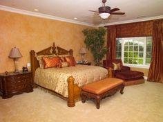 master bedroom rustic color ideas google search - Brown Bedroom Colors