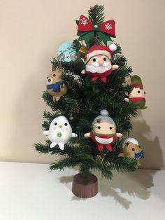 Enfeite de árvore de natal no Elo7 | Ateliê Ticia Reis (103CF81) Rena, Christmas Wreaths, Holiday Decor, Home Decor, Christmas Tree Ornaments, Table Decorations, Door Hangings, Felt Wreath, Snowman