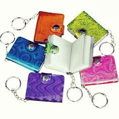 notebook key chains