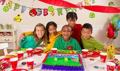 Angry Birds Party Ideas Guide - Party City