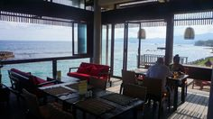 Luncheon Endless Seaview at Garpu Restaurant, Candidasa - Bali | TravelJunkieIndonesia.com
