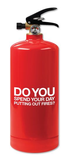 2013 Gold ADDY® Award Winner – Direct Marketing Dental Care Alliance, Dentist Acquisition Direct Mail - Do You Spend Your Day Putting Out Fires? (1 of 2)