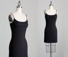 Hey, I found this really awesome Etsy listing at https://www.etsy.com/listing/164258708/90s-vintage-black-spandex-mini-dress