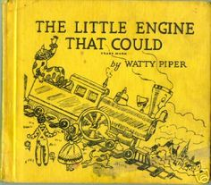 the little engine that could | Myers Collectibles: The Little Engine That Could, Watty Piper, 1954