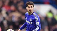 Tiền vệ Cesc Fabegas vắng mặt trong 2 trận đấu tới của Chelsea