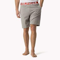 Tommy Hilfiger Cotton Jersey Short - grey heather bc05 (Grey) - Tommy Hilfiger Bottoms - detail image 0