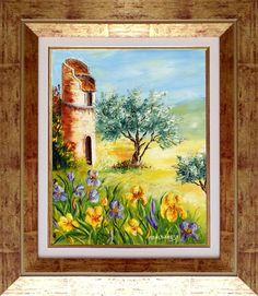 Derrière les Iris par Marie Paule Albanese http://mistoulinetmistouline.eklablog.com/ http://www.my-art.com/isabelle-escapade/collections/provence https://www.facebook.com/pages/Mistoulin-et-Mistouline-en-Provence/384825751531072