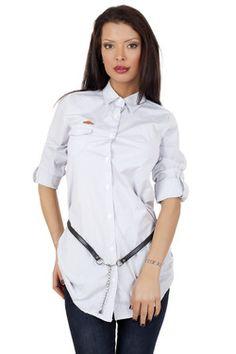 Дамска асиметрична риза