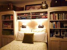 20 best Bedroom wall units images on Pinterest   Home ideas ...