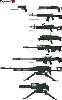 """""""The KHI made K-series of small arms move foward presenting some limited production and heavy weapons, when for an operator it's time to hit hard K-seri. K-series Limited production and Heavy weapons Sci Fi Weapons, Weapon Concept Art, Weapons Guns, Military Looks, Military Weapons, Military Drawings, Future Weapons, Gun Art, Hunting Rifles"""