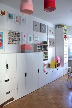Best Cheap IKEA Kids Playroom Ideas for 2019 For every one of its social media accounts Ikea has multiple accounts on an identical platform for every Ikea Kids Playroom, Playroom Ideas, Ikea Girls Room, Ikea Kids Bedroom, Teen Bedroom, Ikea Stuva, Toy Rooms, Kids Decor, Home Decor