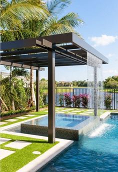 MAGNIFICENT WATER CURTAINS FOR SERENITY IN YOUR GARDEN