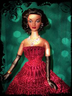 Violet Waters ~ 2010 Convention doll  Fireworks (Dior)  Steve C.