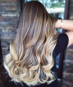 Blonde Balayage For Brown Hair