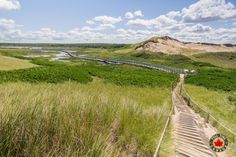The Greenwich boardwalk trail. Read more about our time visiting PEI National Park.