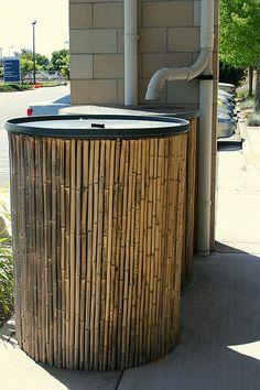 bamboo around water tank   Flickr - Photo Sharing!