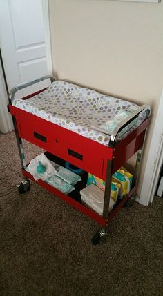 Toolbox Changing Table