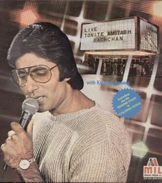 Live Tonite - Amithabh Bachchan with Kalyanji Anandji Extremely Rare Collectors ItemDouble LP, Gate fold SleeveSleeve Condition - Very goog conditionVinyl Condition - Excellent conditionSee picture for more details
