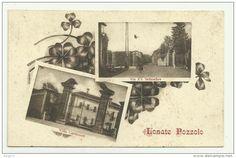 carte sépia Lonate Pozzolo, multivues 1917