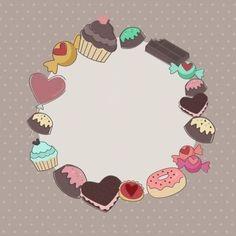 Etiqueta Ideas Para Logos, Logo Doce, Logo Online Shop, Art Graf, Dessert Logo, Chocolate Boutique, Cake Logo Design, Food Graphic Design, Cake Packaging