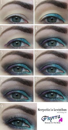 Darling Girl Nerpette's Leviathan Tutorial. Pin now, read later! #beauty #makeup #crueltyfree #tutorial