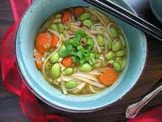 The Witchy Kitchen: Quick Edamame Soup Delicious Vegan Recipes, Raw Food Recipes, Soup Recipes, Vegetarian Recipes, Healthy Recipes, Recipies, Making A Cookbook, My Favorite Food, Favorite Recipes