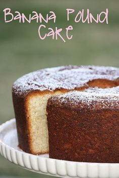 Brandy's Baking: Banana Pound Cake