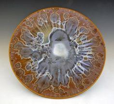 BILL-CAMPBELL-Art-Pottery-16-Platter-Crystalline-Glaze-Porcelain-ACTUAL-Piece