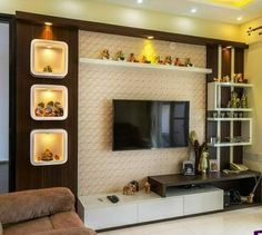 Best 40 modern TV wall units wooden tv cabinets designs for living room interior. Best 40 modern TV wall units wooden tv cabinets designs for living room interior 2020 Tv Unit Interior Design, Tv Unit Furniture Design, Tv Cabinet Design Modern, Room Interior, Tv Cupboard Design, Best Home Interior Design, Bed Furniture, Tv Unit Decor, Tv Wall Decor