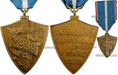 Slovakia, 1939 Defence of Slovakia commemorative medal