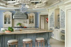 Get inspiration and kitchen design ideas from these stunning, professionally designed kitchens — the finalists in the National Kitchen and Bath Association's 2015 competition. Large Kitchen Design, Luxury Kitchen Design, Kitchen Designs, Kitchen Furniture, Kitchen Interior, Kitchen Decor, Kitchen Ideas, Brass Kitchen, Furniture Design