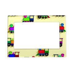 Train Baby Magnet Frame Picture Frame Magnet