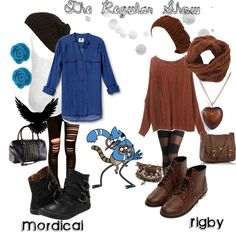 """""""The Regular Show"""" by ghostsonstandby on Polyvore"""