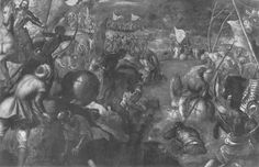 Francesco II Gonzaga against Charles VIII of France 1495 in fighting the battle of the Taro by @arttintoretto #mannerism