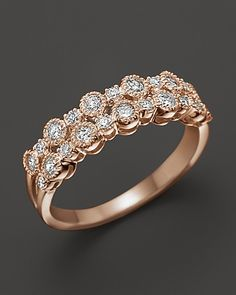 Diamond Band in 14K Rose Gold, .50 ct. t.w. | Bloomingdale's