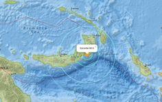 Zware aardbeving treft Papoea-Nieuw-Guinea