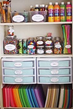 79 Organize Art Supplies Ideas Craft Room Craft Room Office Space Crafts