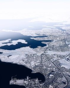 What Reykjavík city looks like at the moment #iceland : @alex_michael_green