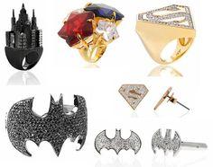 Acessórios DC Comics – por nOir Jewelry