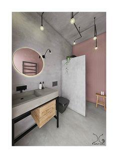 Ideas bathroom vanity makeover concrete for 2019 Grey Bathroom Tiles, Bathroom Sink Cabinets, Concrete Bathroom, Grey Bathrooms, Bathroom Flooring, Small Bathroom, Plum Bathroom, Granite Bathroom, Concrete Walls