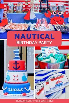 Nautical Birthday Pa