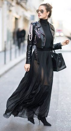 Cropped Jacket makes a street style statement | Stylist Secrets: How to Make Your Legs Look Longer