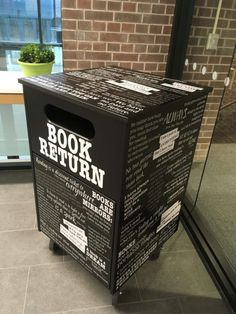 Stylish bookdrop catches the eye at LCCWM Little Free Libraries, Free Library, Library Ideas, Woodworking Projects Diy, Diy Projects, Break Every Chain, Future Library, Guide To The Galaxy, School Librarian
