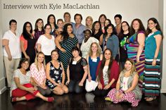 Interview with Kyle MacLachlan voice of Riley's Dad in #InsideOut #InsideOutEvent