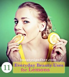 11 Everyday Beauty Uses for Lemons | Beauty and MakeUp Tips